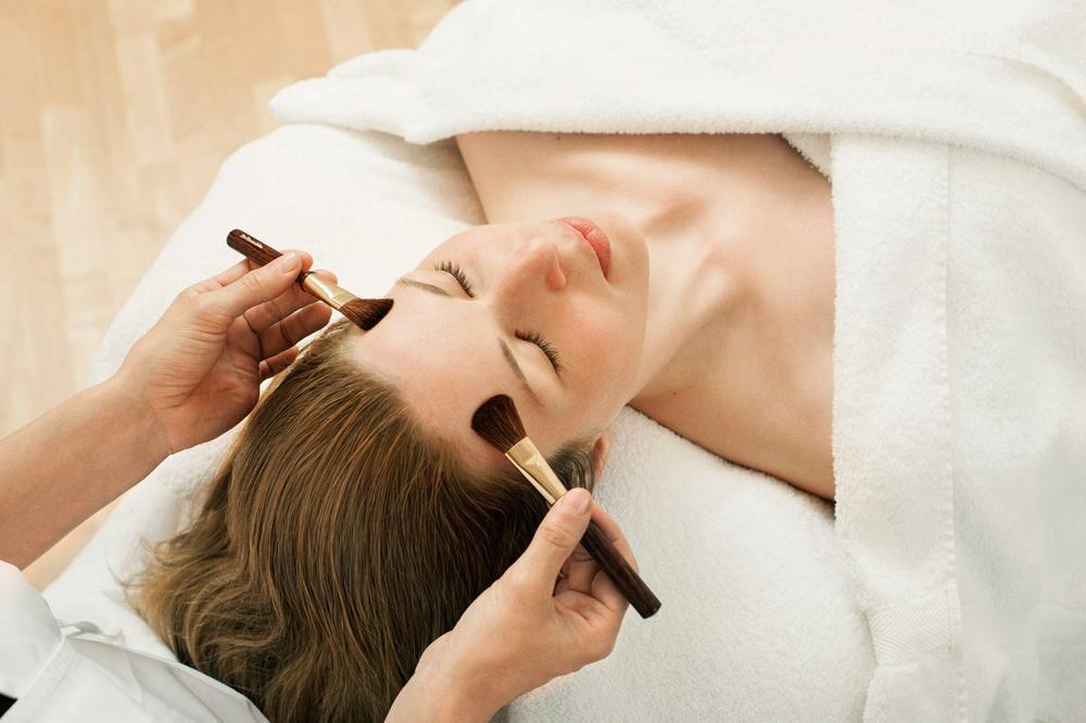 massaggio pennelli